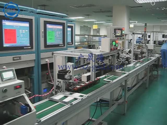全自动手机电池生产线